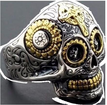 Anello_skull